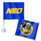 CAR FLAG 2 SIDED NEO & ODIN