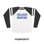 LS GAMEDAY T WHITE WITH CHARCOAL